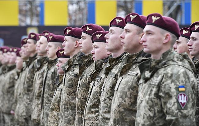 Верховная рада переименовала высокомобильные десантные войска вдесантно-штурмовые