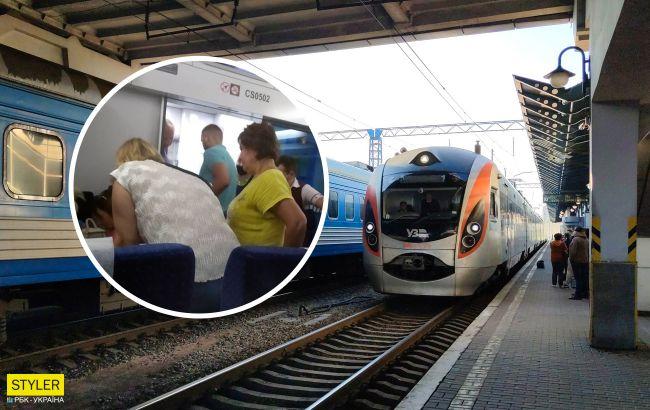 """Переживал весь вагон: пассажиры и стюард """"Интесити"""" спасли ребенка"""