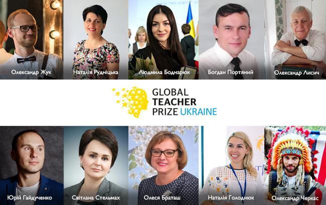 Стали відомі імена топ-10 кращих вчителів України