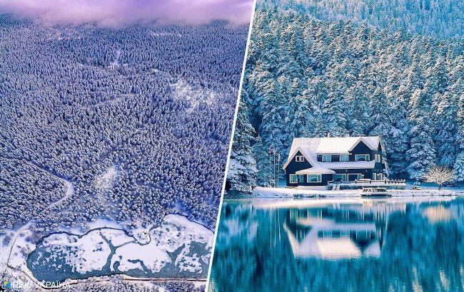 Сбежать от пандемии: необычная зимняя локация в Турции привлекает туристов