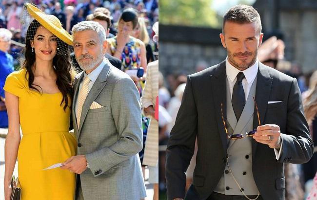 Весілля принца Гаррі та Меган Маркл: гості здивували пишномовним вбранням (фото)