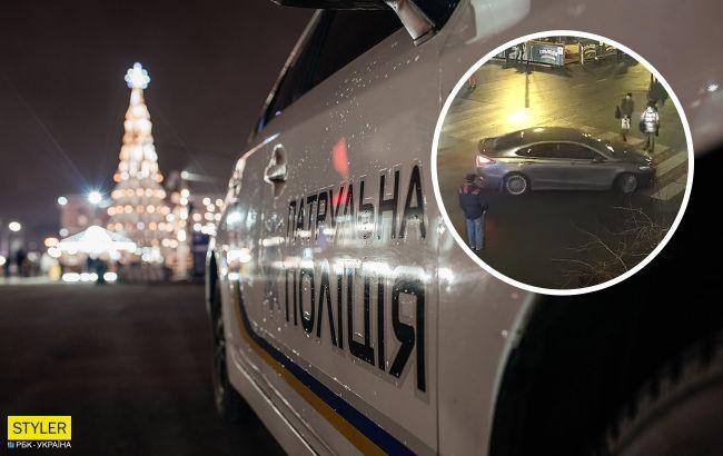 Я не простой человек: в Киеве лихач ехал на пешеходов, потому что хотел на елку