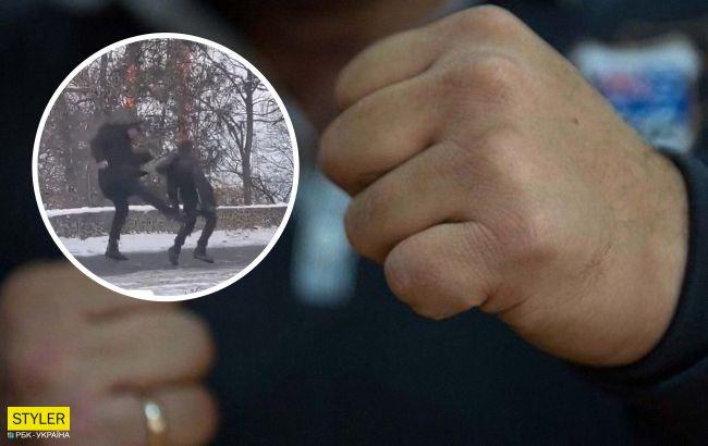 В Одессе отец избил ребенка ногами прямо на улице: это вообще жесть!