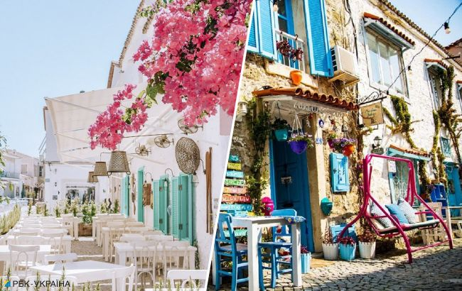 Инстаграмный рай в Турции: красочный поселок на Эгейском море напоминает курорты Греции