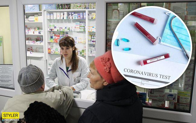В аптеках України з'являться тести на коронавірус: названа вартість