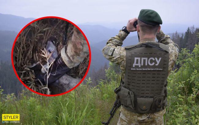 Украинские пограничники поймали дикое животное и жестоко надругались над ним: видео 18+
