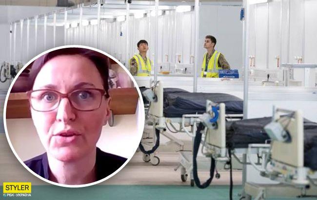 Украинка рассказала правду про коронавирус в Англии: больницы переполнены
