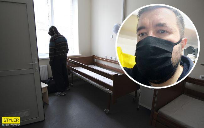 Закатали в асфальт: киевлянин с COVID-19 раскрыл правду про больницы