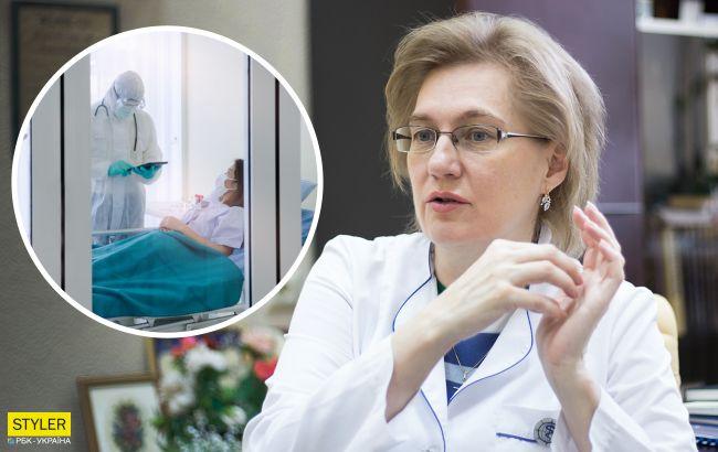 Голубовская объяснила, какие стадии болезни COVID-19 и как на каждой из них лечат