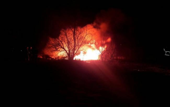 фото: крушение вертолета в Кременчуге (kg.ua/news)