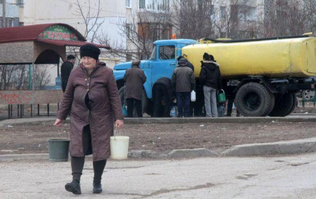 Оккупанты заявили, что на юге Крыма не хватит воды на курортный сезон