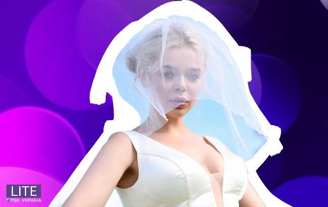 Знову наречена? Аліна Гросу вперше після розлучення з'явилася в білій сукні