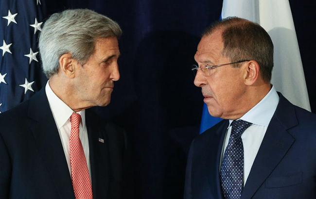 Фото: Джон Керри и Сергей Лавров встретятся в Лозанне