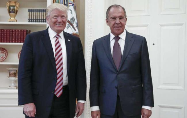 Фото: Дональд Трамп розповів Сергію Лаврову, чому звільнив главу ФБР