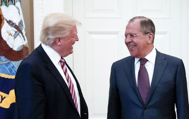 Фото: Дональд Трамп удовлетворен встречей с главой МИД России Сергеем Лавровым