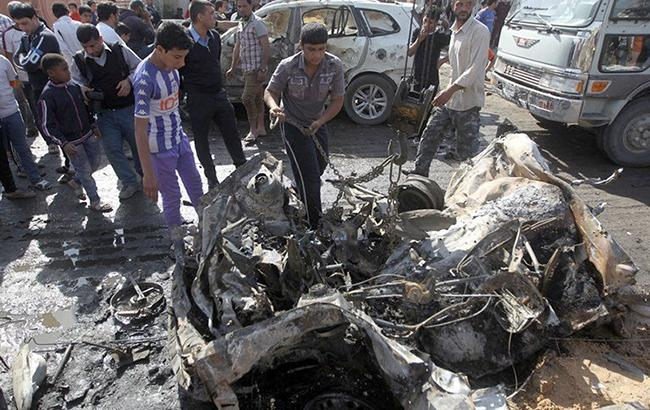 Фото: вибух в Афганістані (фото lbcgroup.tv)