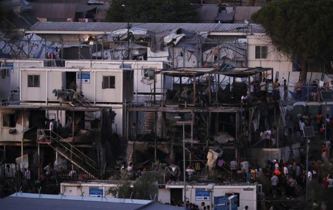 У Греції в таборі для біженців сталися пожежі і заворушення, є жертви