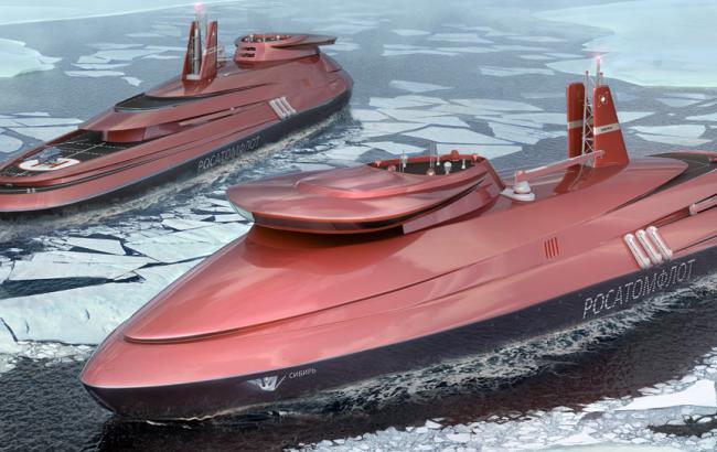 Фото: флот РФ пополнят боевые ледоколы