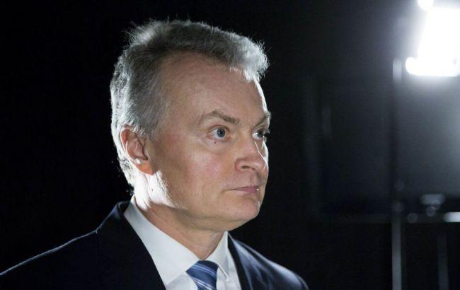 Новий президент Литви вступив на посаду