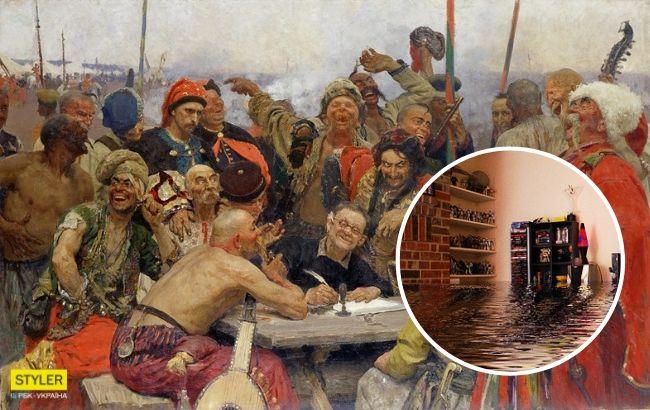 """У Харкові під загрозою знищення опинилися """"Запорожці"""" Рєпіна"""
