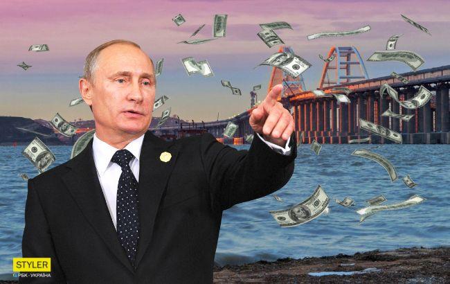 """Путин """"кинул"""" строителей Крымского моста: они сделали признание на камеру"""