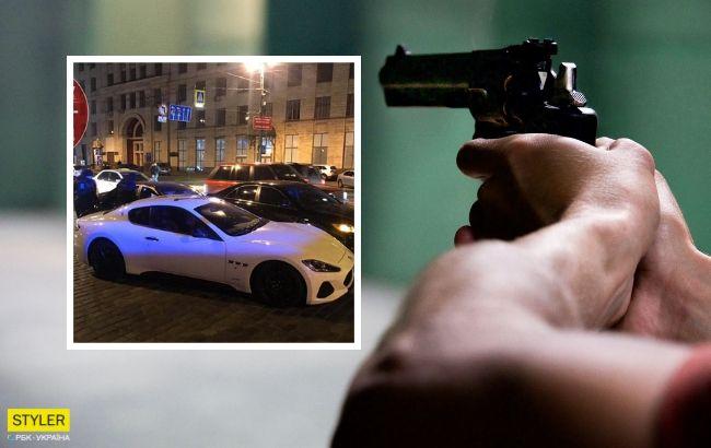 У центрі Києва мажор на Maserati влаштував стрільбу: всі подробиці