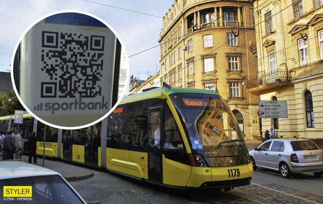 Украинцев предупредили о фальшивыхQR-кодах в трамваях: будьте внимательны