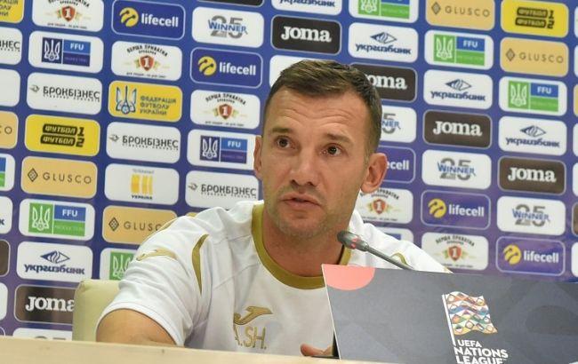 Шевченко оголосив заявку збірної України на відбіркові матчі Євро-2020