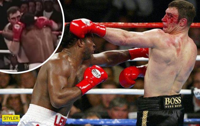 Бой Кличко назвали самым кровавым за всю историю бокса