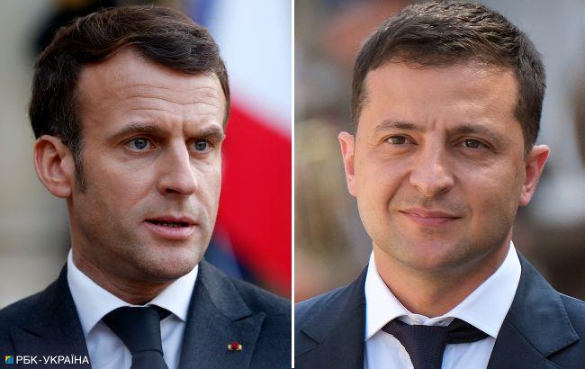 Зеленський відвідає Францію 16 квітня. Макрон прийме його в Єлисейському палаці