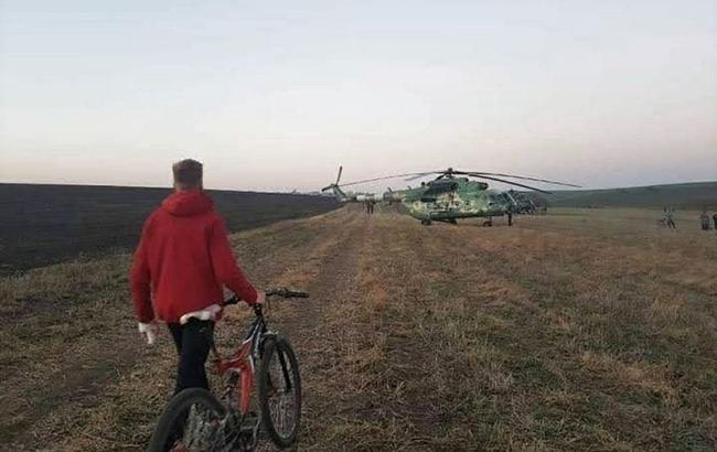 Фото: место крушения Су-27 (Мария_Лехова_facebook_com)