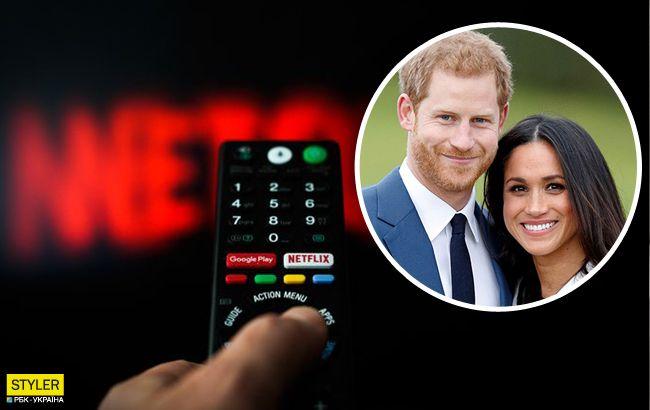 Принц Гарри и Меган Маркл обсудили с королевой сотрудничество с Netflix