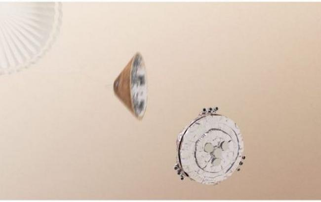 Фото: Schiaparelli разбился при посадке на Марс
