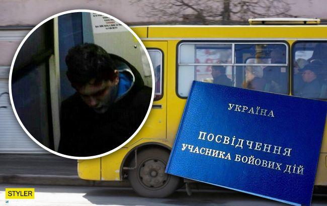 В Мариуполе кондуктор маршрутки набросилась на пассажира с УБД
