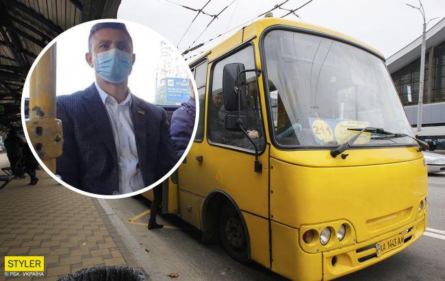 Говорил, что льготы: нардеп Тищенко не оплатил проезд в маршрутке