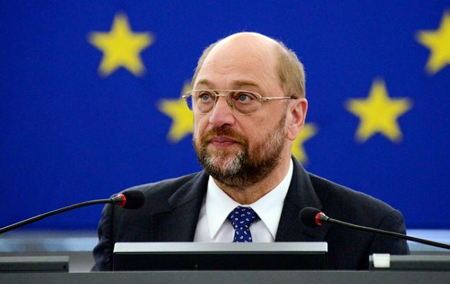 Шульц підтвердив підтримку Європарламентом безвізового режиму для України