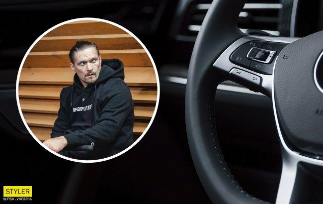 У Усика забрали авто в Киеве: