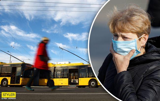 Без масок пускать не будут: как будет работать транспорт в Киеве