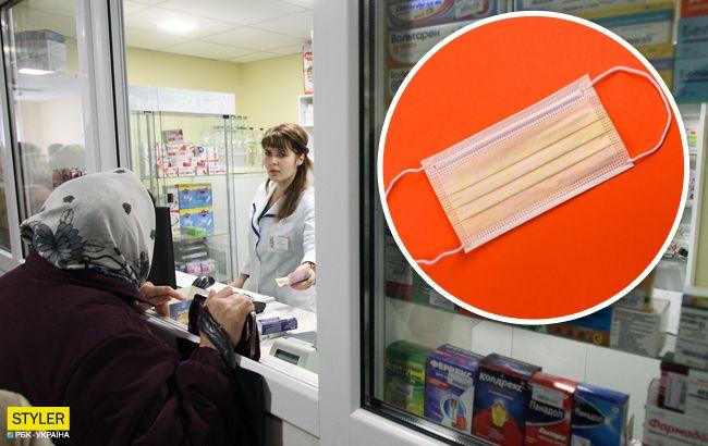 Украинцам рассказали, когда в аптеках появятся маски: получат не все