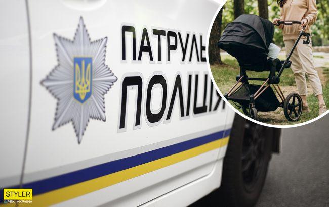 В Каховке мать отключилась во время прогулки с младенцем: была мертвецки пьяна