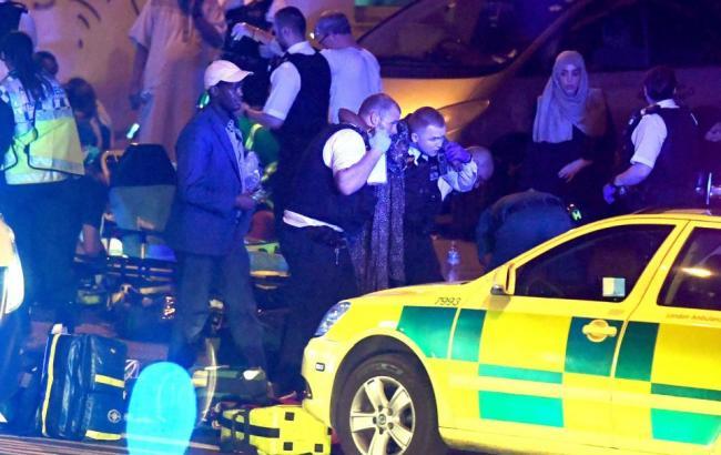 У результаті наїзду на натовп у Лондоні постраждали понад 10 осіб, - джерела