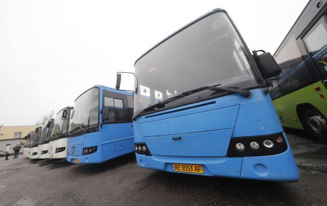 В Днепре перевозчики пополнили подвижной состав автобусами большой вместимости