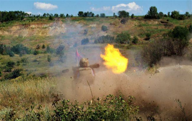 Боевики в Донбассе обстреляли украинских военных из запрещенных Минском минометов