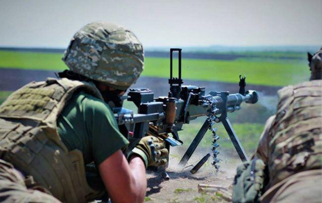 Возле Луганского боевики стреляли из гранатомета