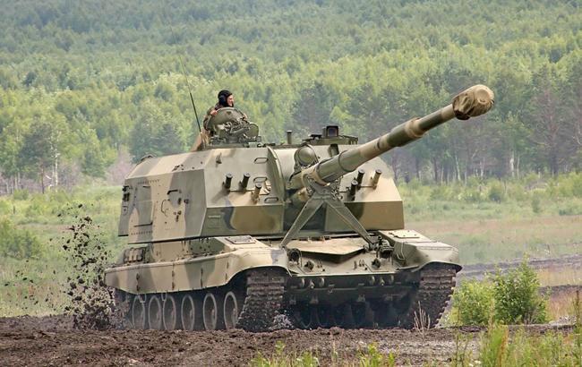 """""""Чому ніхто не ліг?"""": російські військові намагалися зупинити гаубицю цеглою (відео)"""