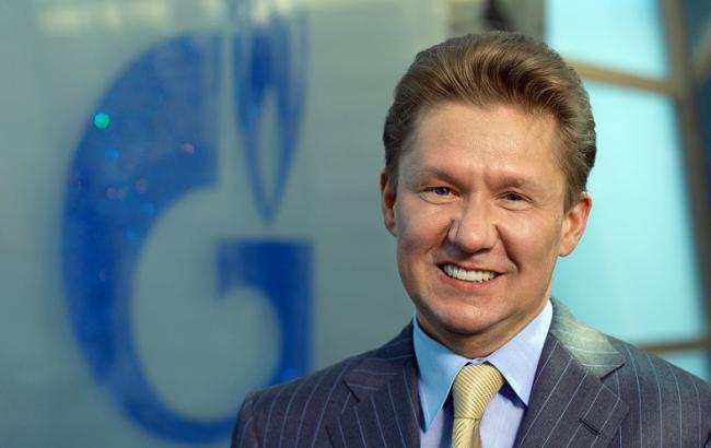 "Фото: глава ""Газпрома"" Алексей Миллер"