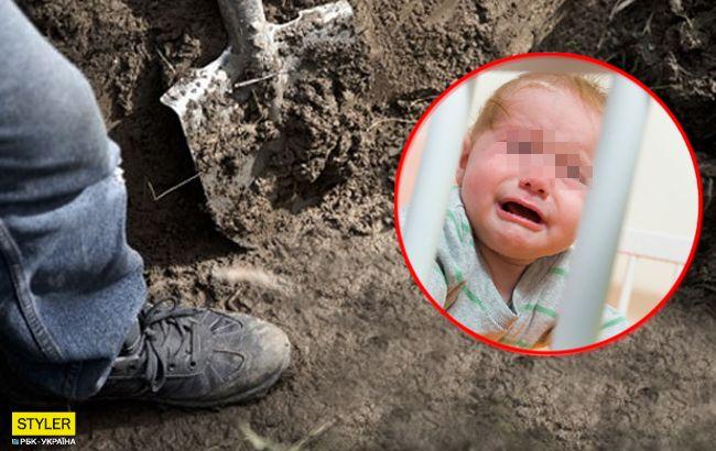 Закопала в мішку: подробиці смерті немовляти під Хмельницьким