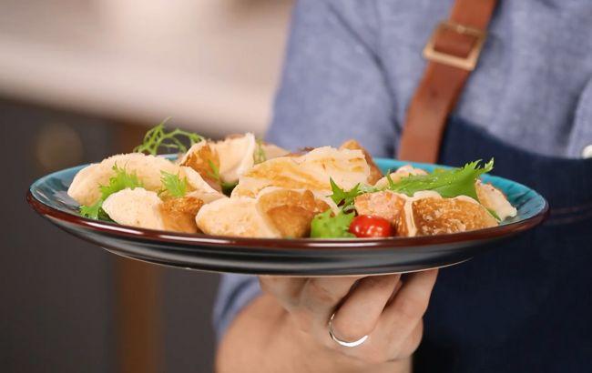 Блины с фетой и оливками: вкусный, быстрый и полезный рецепт