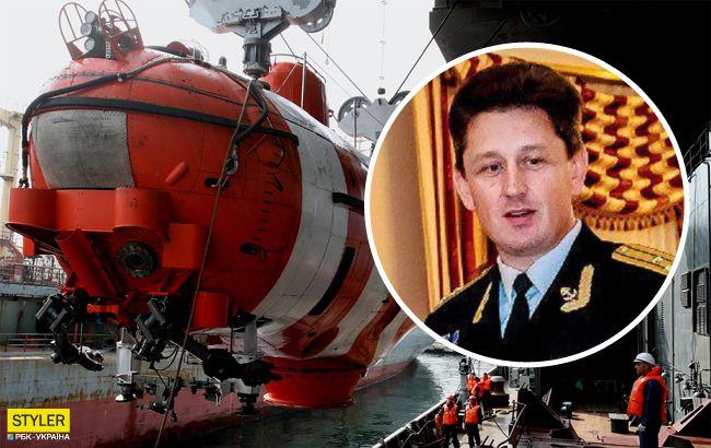 Гибель подводников в России: на подлодке моряков оказался капитан родом из Украины