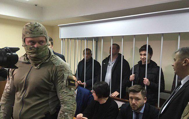 Российский суд продлил арест всем украинским морякам
